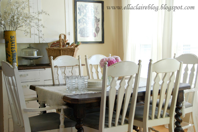 Dining Room at Ella Claire Inspired