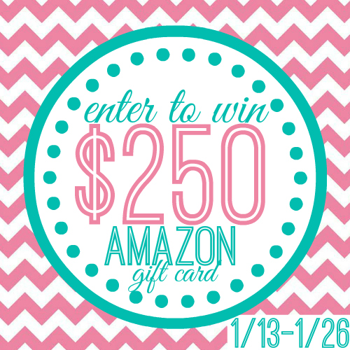 Enter to win a $250 Gift Card to Amazon.com!