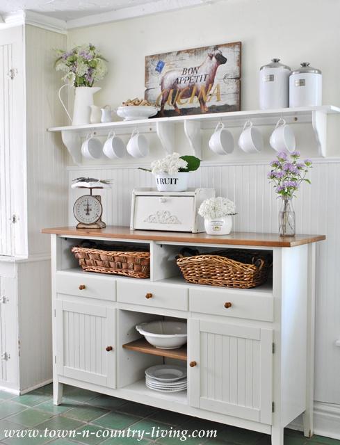 Farmhouse Kitchen Sideboard