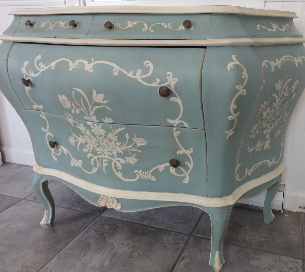 Refurbished Dresser by Finding Silver Pennies