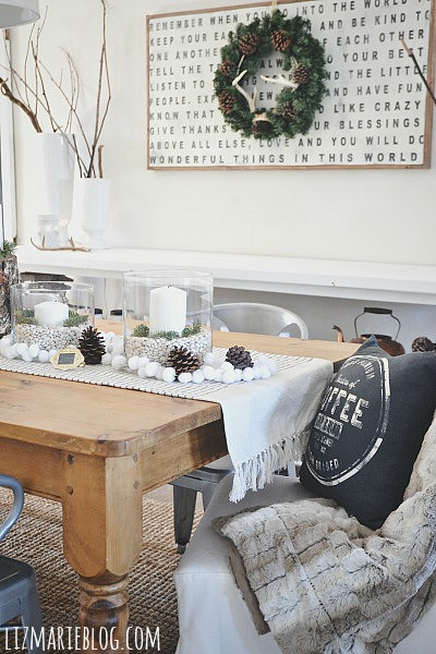 Dining Room by Liz Marie Blog