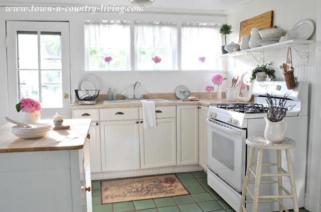 Summer in a Farmhouse Kitchen