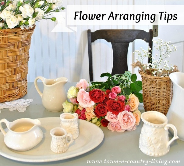 Flower Arranging Tips by Town and Country Living
