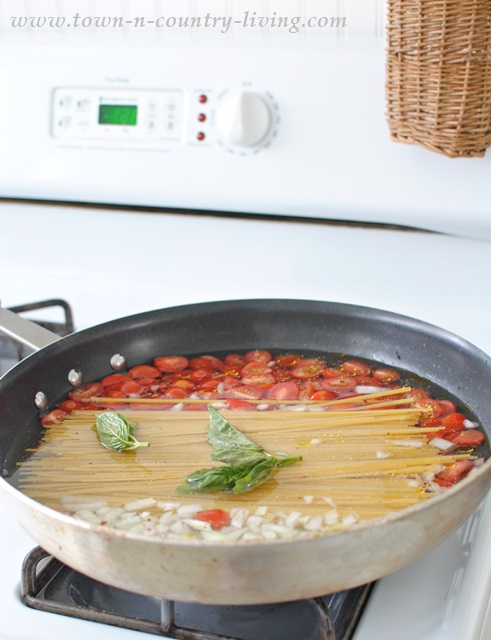 How to make one pan linguine