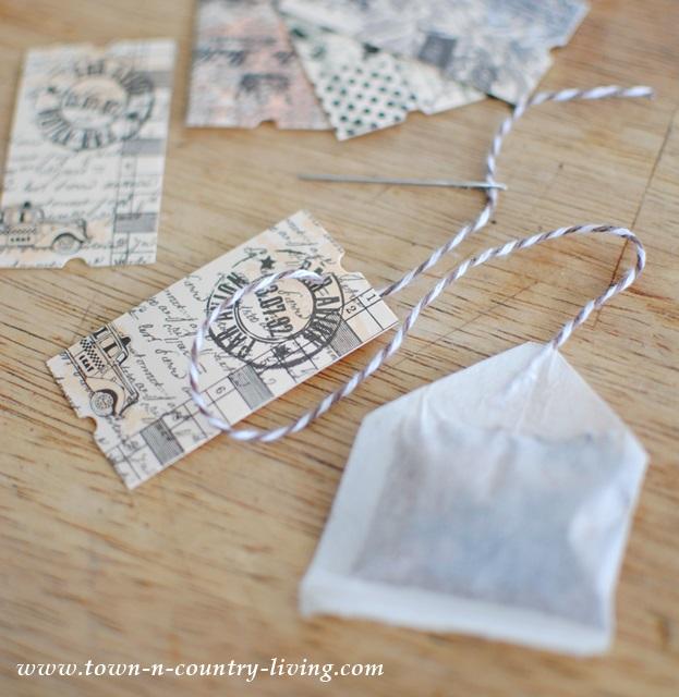 How to make flavored tea bags