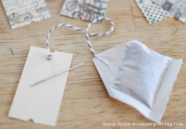 DIY Flavored Tea Bags