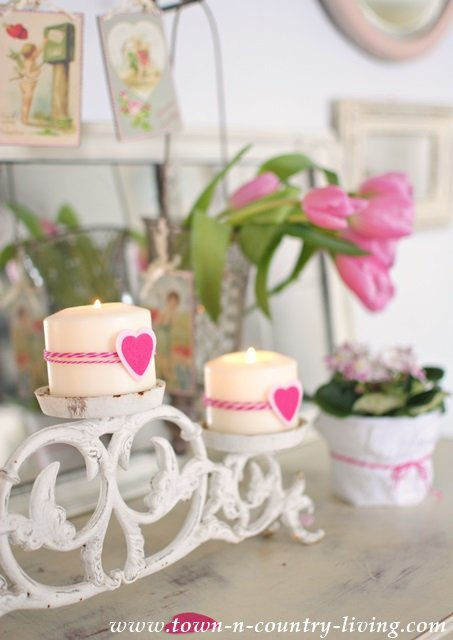 Romantic Decorating Details