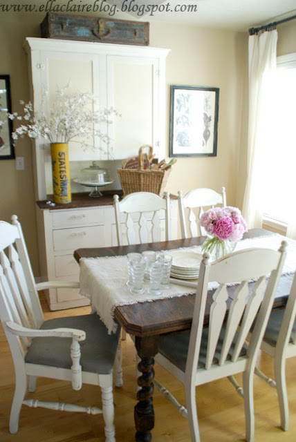 Farmhouse Style Dining Room - Ella Claire Inspired