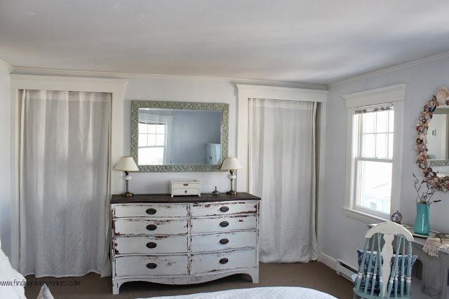 Farmhouse Style Master Bedroom - Finding Silver Pennies