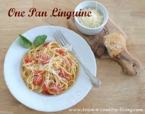 One Pan Linguine Pasta Recipe