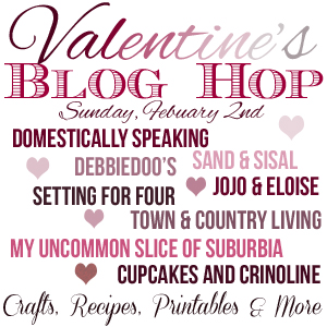 Valentines Blog Hop via Town and Country Living