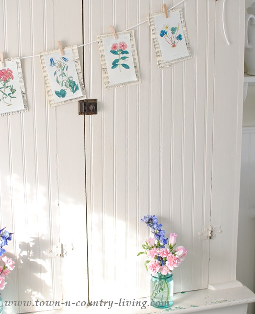 Quick and Easy Botanical Print Banner