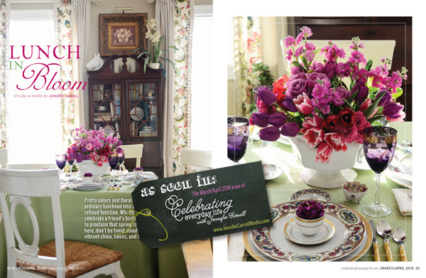 Lunch In Bloom - Celebrating Everyday Life