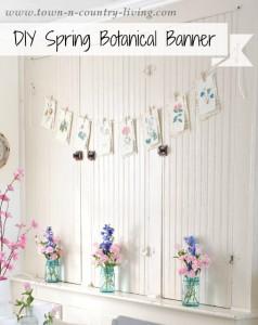 Spring Botanical Banner