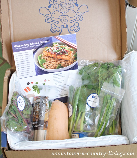 Cooking Ingredients from Blue Apron