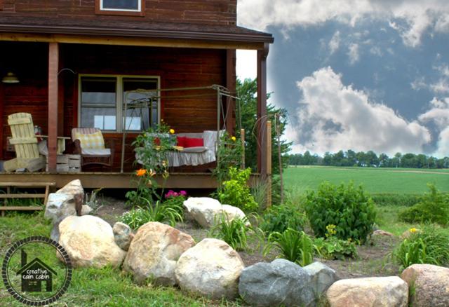 Creative-Cain-Cabin-Charming-Log-Home