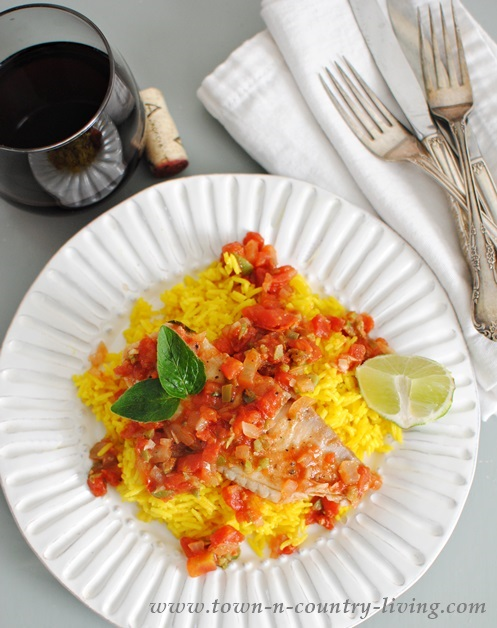 Tilapia Veracruzana Recipe