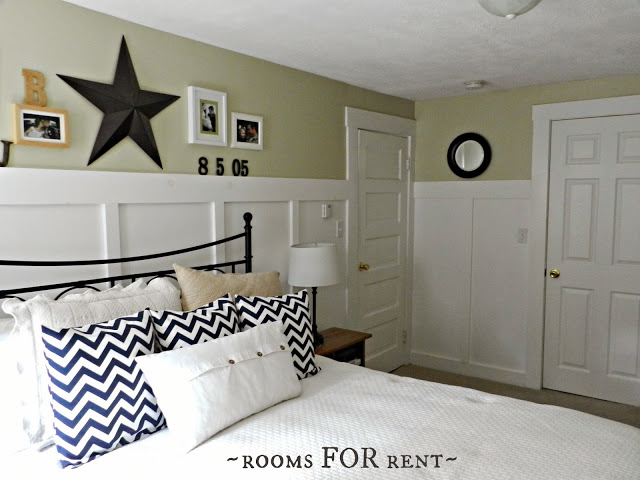 Cottage style bedroom at Rooms for Rent
