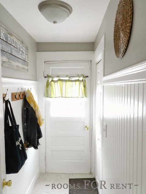 Cottage style mud room at Rooms for Rent