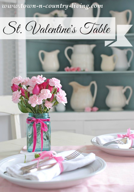 St. Valentine's Day Table Setting