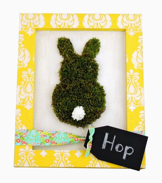 framed-moss-bunny-via-Craft-Warehouse
