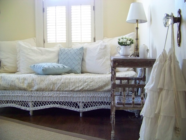 Shabby Cottage Style Guest Room