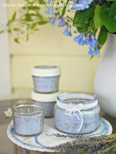 How to make french lavender scented candles jennifer for Scents for homemade candles