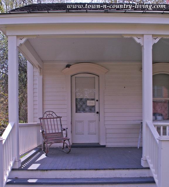 Farmhouse Front Porch with Vintage Rocker