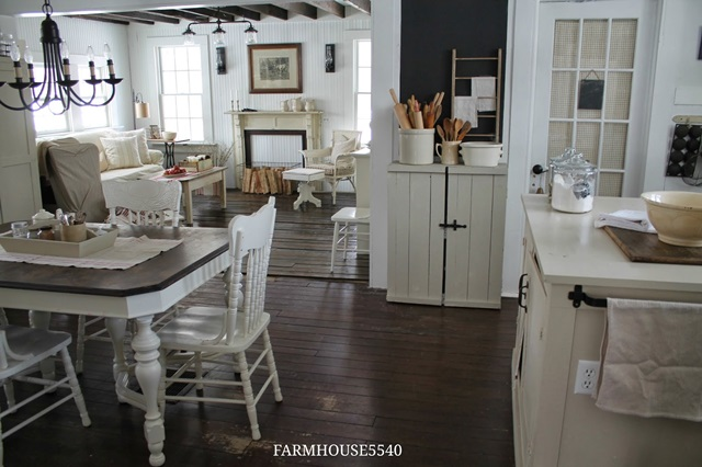 Charming Farmhouse Tour Farmhouse 5540 Town amp Country  : Farmhouse Open Floor Plan from www.town-n-country-living.com size 640 x 426 jpeg 90kB