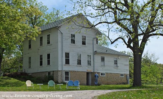 Farmhouse at Primrose Farm in Kane County, Illinois