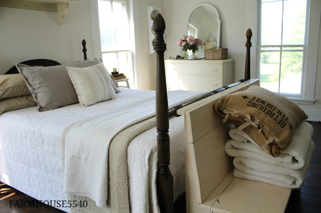 Guest Bedroom at Farmhouse 5540