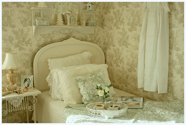 Charming Romantic Guest Bedroom