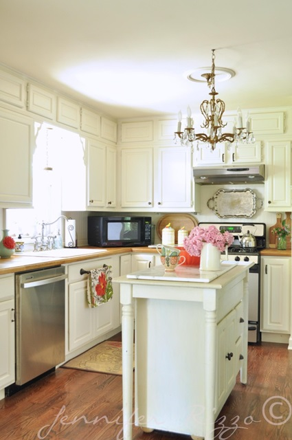 Traditional Kitchen at the home of Jennifer Rizzo