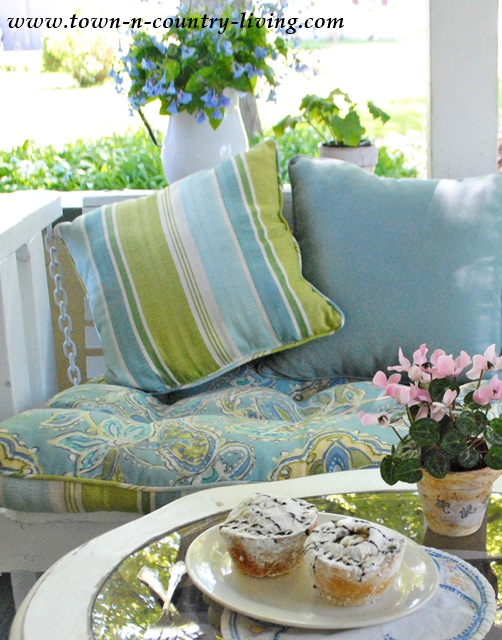Pier 1 Loftonaire Outdoor Cushions for Porch Glider