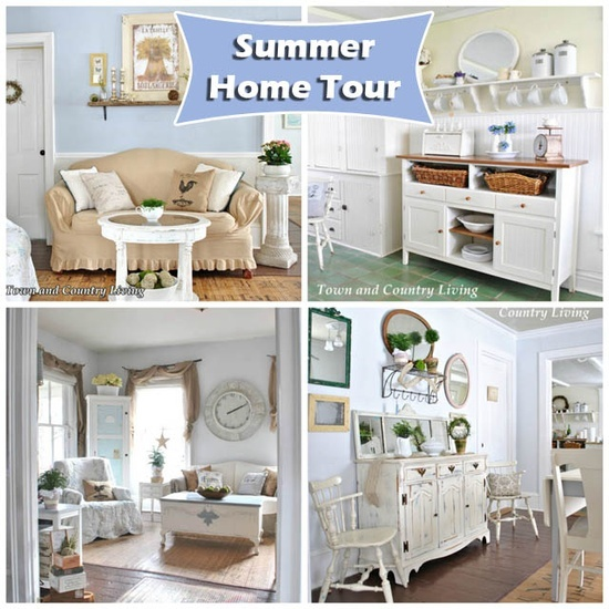 Summer Home Tour at Town and Country Living