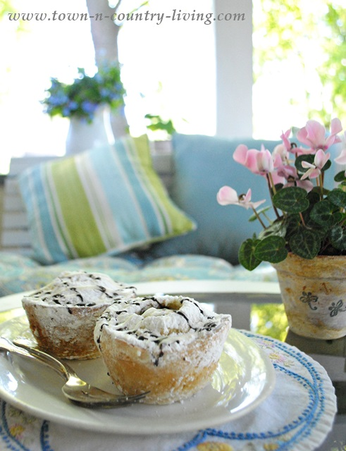 Treats on a Farmhouse Porch