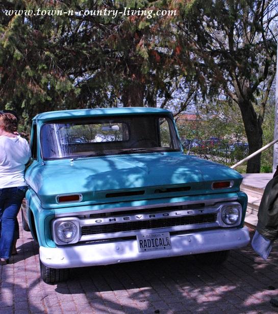 Vintage Truck at Main Street Market