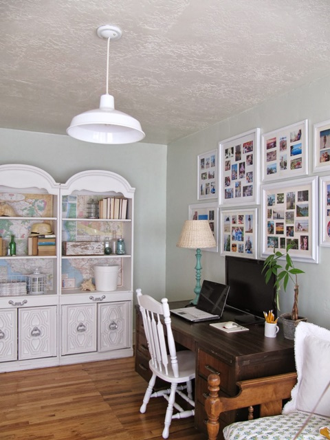 Cottage Style Home Office