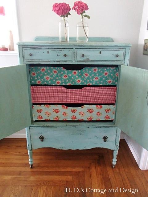 Cath Kidston Inspired Dresser by DD's Cottage