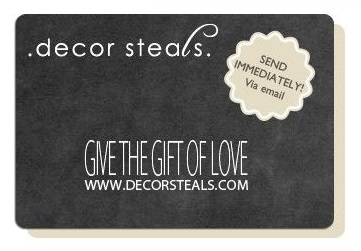 Decor Steals Gift Card