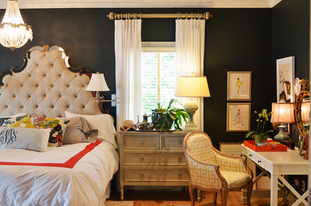 Eclectic and Elegant Master Bedroom