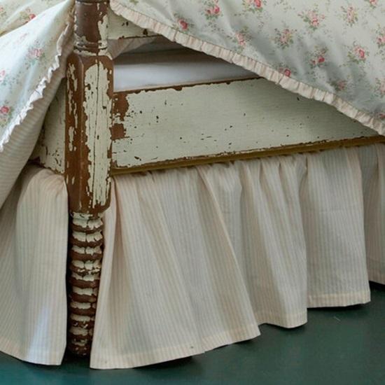 Maura Bed Skirt for Farmhouse Bedroom