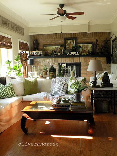 Charming Eclectic Vintage Home Oliver And Rust Town