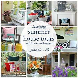 Summer House Tours with 23 Bloggers