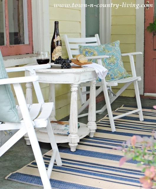 Mini Retreat on a Farmhouse Porch