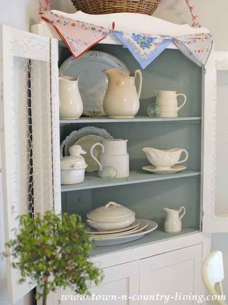 Cottage Style Dining Hutch