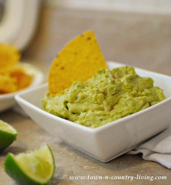 Make this mild and creamy guacamole for a tasty treat.