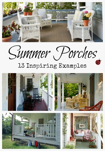 Collection of 13 Front Porches
