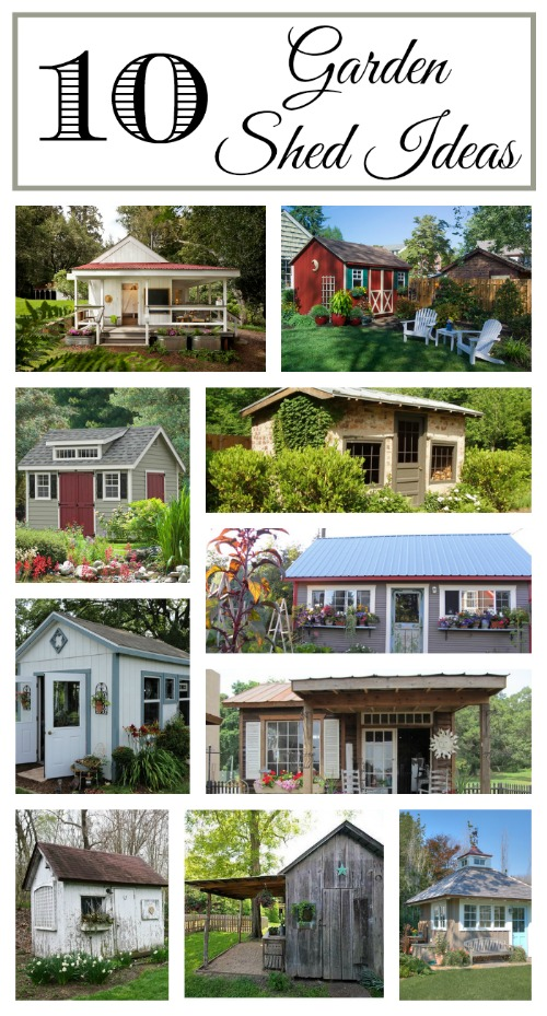 Garden Shed Collage