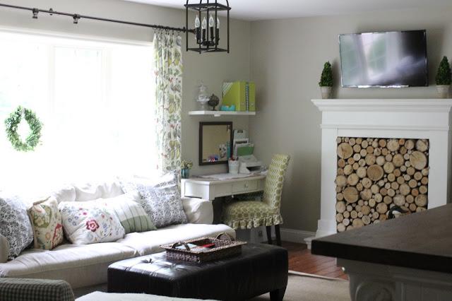 Charming Suburban Living Room